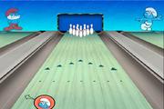 Играть Smurfs Bowling