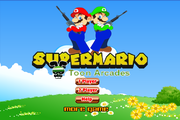 Suoer Mario battle