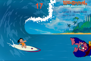 Игра Lilo and Stich Surf Adventure