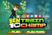 Игра Ben 10 Train Champ