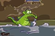 Играть Crocodile Parkour