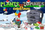 Игра Plants vs Zombies: Christmas