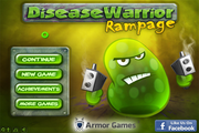 Играть Disease Warrior: Rampage
