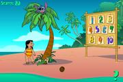 Игра Lilo and Stich Go coconuts