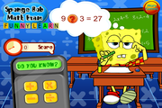Sponge Bob Math Exam Funny Learn