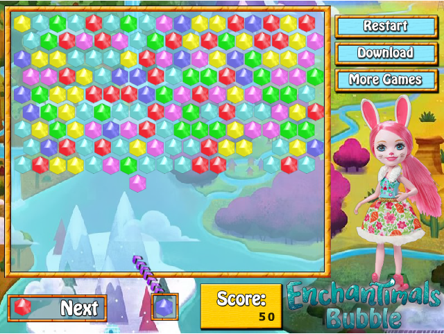 Игра Enchantimals Bubble