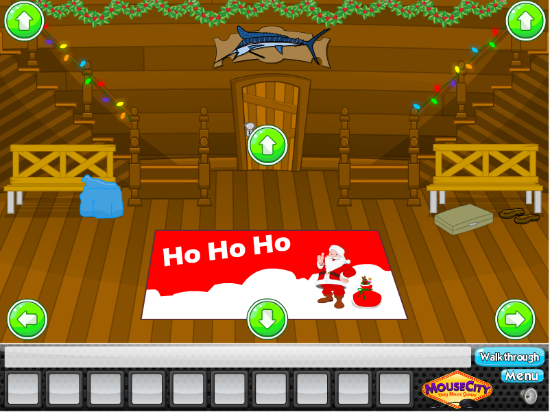 Играть Escape Christmas Cabin
