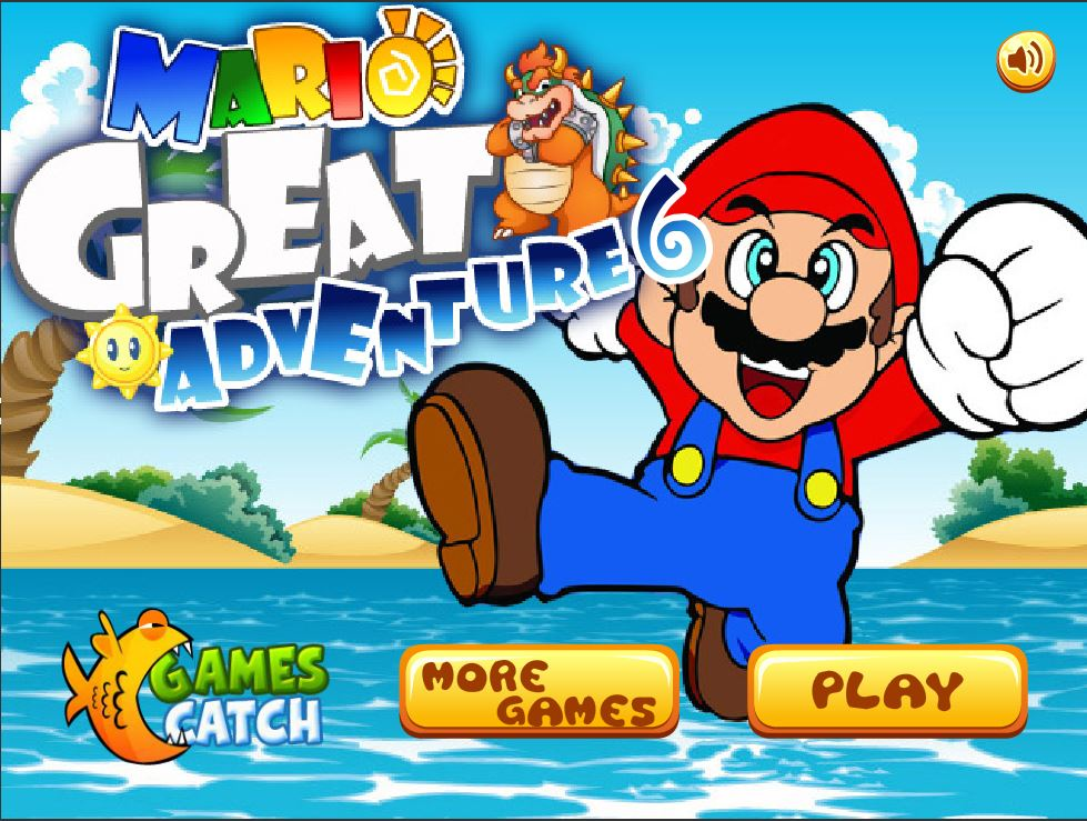 Игра Mario Great Adventure 6
