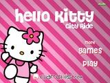Играть Hello Kitty: City Ride