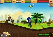 Играть Sonic vs Bart