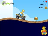 Игра Simpsons Starving Rush