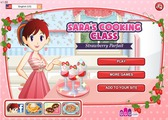 Игра Sara's Cooking Class:Strawberry Parfait