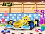 Играть Racing Car Wash