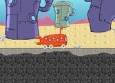 Играть Sponge Bob bus express