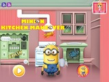 Играть Minion Kitchen Makeover