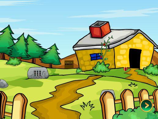 Игра Village House Santa Escape