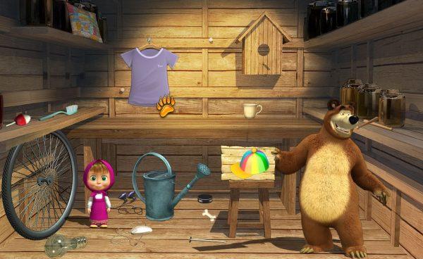 маша и медведь в доме