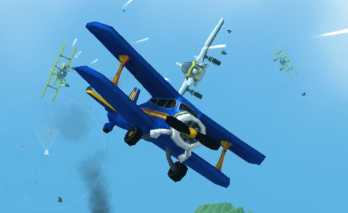 бой в воздухе самолетов