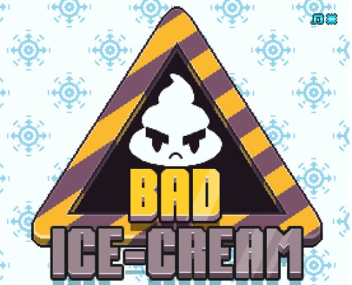 Логотип bad ice cream