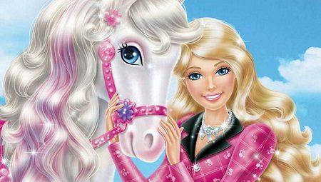 Барби и пони