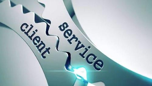 клиент - сервис шестеренки
