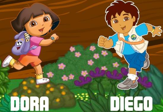 Даша и Диего