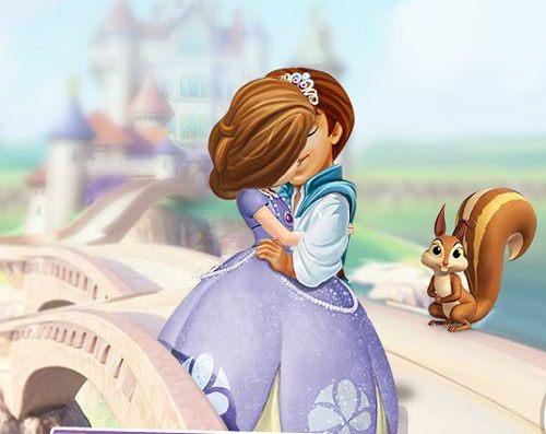 поцелуи Принцессы Софии