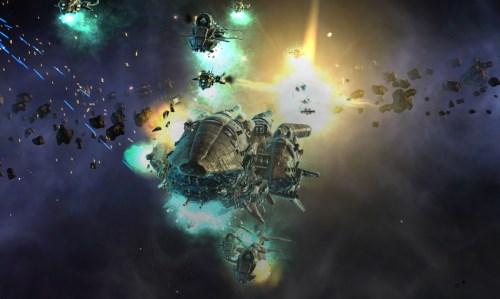 космическое сражение