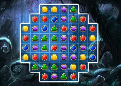 скриншот игры 3 в ряд