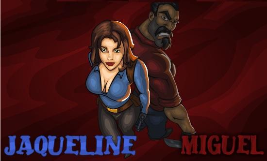 Герои Мигель и Жаклин