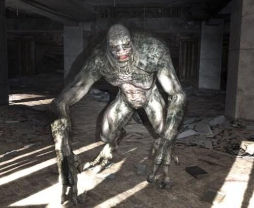 мутант в подземелье