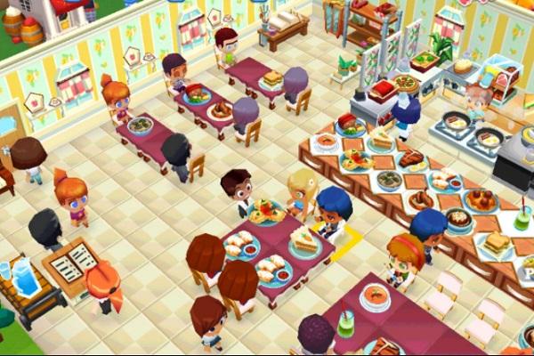 обслуживание в ресторане игра