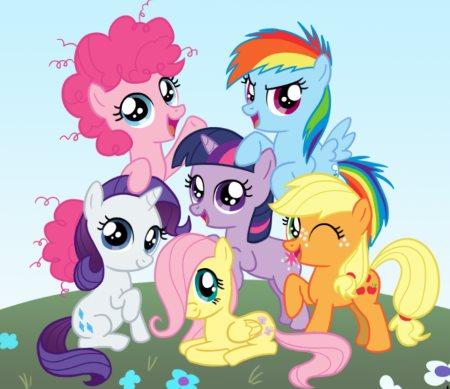 группа сказочных пони