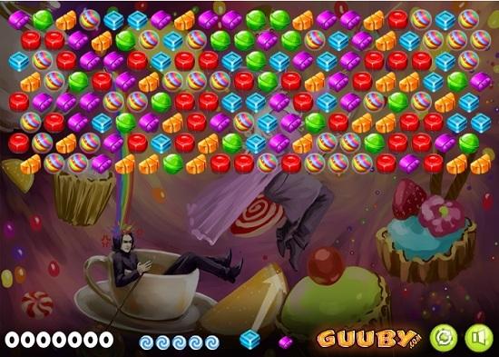 интерфейс игры шарики