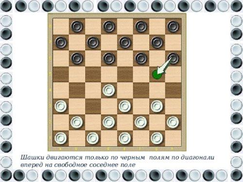 правила в шашки