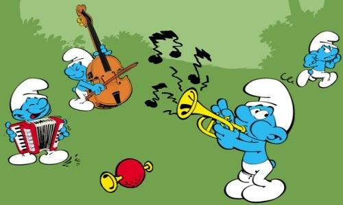 смурфы музыканты