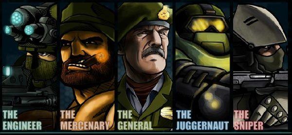 Главные герои ударного отряда